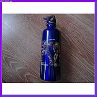 Бутылка бутылочка алюминиевая с карабином трансформеры 500мл, фото 1
