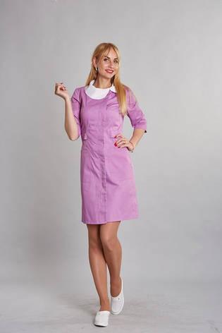 Модный медицинский женский халат разных цветов, фото 2