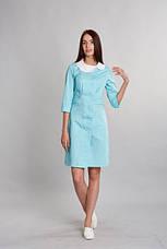 Модный медицинский женский халат разных цветов, фото 3