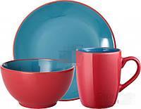Набор посуды Набір посуду Bicolor Blue 3 предмети MB16S415 Limited Edition