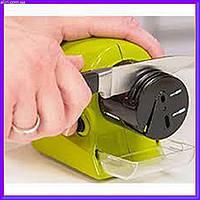 Точилка для ножей и ножниц на батарейках Swifty Sharp Motorized Knife