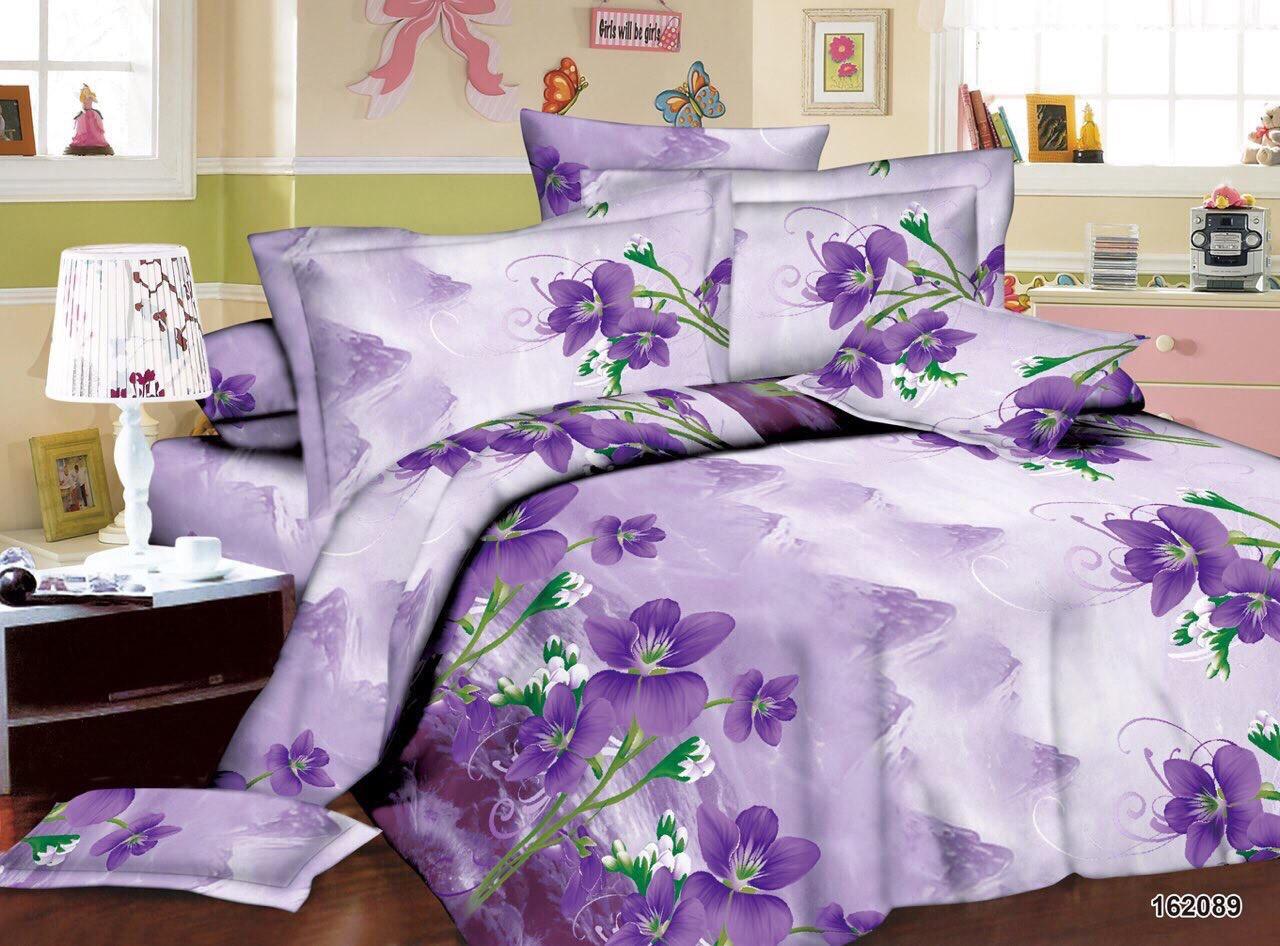 03186b83809f Комплект постельного белья двуспальный фиалка 3 д оптом: продажа ...