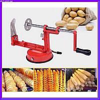 Машинка для спиральной резки картофеля SPIRAL POTATO SLICER Чипсы