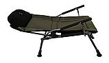 Кресло рыбацкое складное Carp Elektrostatyk FK5P.Есть самовывоз в Киеве.Бесплатная упаковка, фото 3