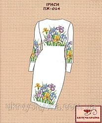 Плаття жіноче під вишивку Іриси