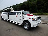 Лимузин Мега Hummer Lambo, белый. Эксклюзивная опция - Ламбо дверь Крыло Чайки.