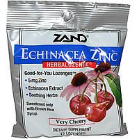 Цинк (Zinc) с эхинацеей и вишневым вкусом, Zand, 15 леденцов