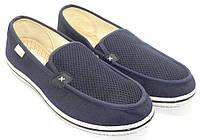 Туфли / слипоны мужские текстильные. Модель: 1125-02 n