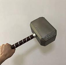 Легендарный молот Тора. Точная копия 1:1 - Мьёльнир Резиновый молот, фото 2