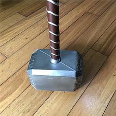 Легендарный молот Тора. Точная копия 1:1 - Мьёльнир Резиновый молот, фото 3