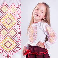 Вышиванки детские Орнамент Ромбы от 7 до 16 лет, фото 1