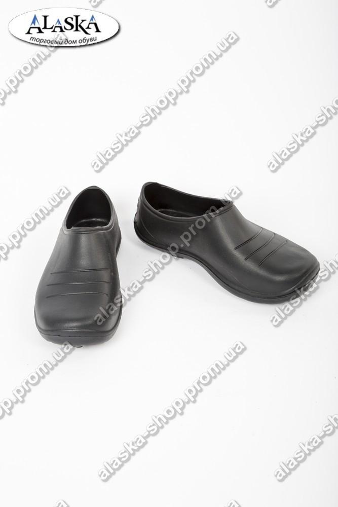 Галоши женские черные (Код:  ГП-01 муж)