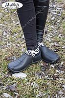 Галоши женские черные (Код:  ГП-01 жен), фото 1