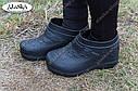 Женские галоши черные (Код: ГП-06), фото 2