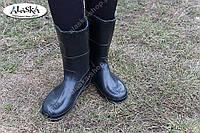 Женские сапоги черные (Код: СЖ-01), фото 1