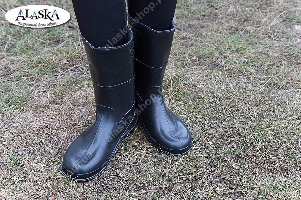 Женские сапоги черные (Код: СЖ-01)
