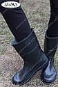 Женские сапоги черные (Код: СЖ-01), фото 2