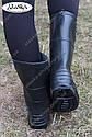 Женские сапоги черные (Код: СЖ-01), фото 3