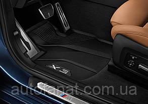 Оригинальные передние коврики салона BMW X3 (G01)