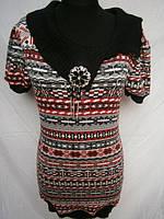 Туники с коротким рукавом для девушек. Арт. 26709, фото 1