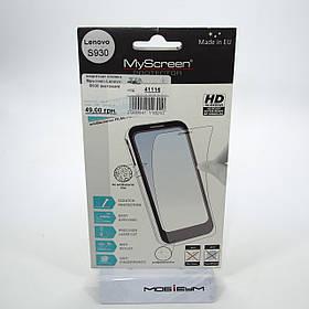 Захисна плівка MyScreen Lenovo S930 [матова]