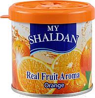 Освежитель MY SHALDAN очищает воздух и содержитнатуральное масло лимонена 80 грамм