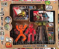 Набор фигурок для анимационного творчества StikBot со штативом для съёмки, фото 3