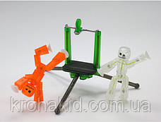 Набор фигурок для анимационного творчества StikBot со штативом для съёмки, фото 2