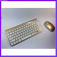 Беспроводная русская клавиатура mini и мышь keyboard 908, фото 1