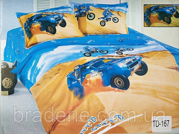 Детское постельное белье 3D Elway TD-167 Ралли, фото 2