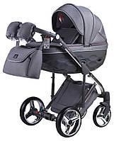 Детская коляска универсальная 2 в 1 Adamex Chantal Polar (Chrome) C4 (Адамекс Шанталь, Польша)