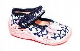 Дитяча текстильна взуття ViGGaMi