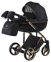 Детская коляска универсальная 2 в 1 Adamex Chantal Polar (Gold) C1-A (Адамекс Шанталь, Польша)