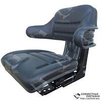 Сиденье универсальное с подлокотниками МТЗ, ЮМЗ, Т-16, Т-25, Т-40, Т-150 кресло с регулировкой веса (Турция), фото 1