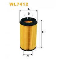 Фільтр масла WIX WL7412