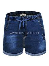 Джинсовые шорты для девочки GLO-Story,Венгрия