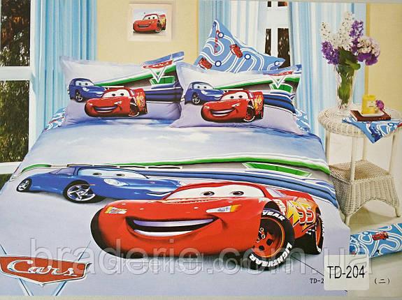 Детское постельное белье 3D Elway TD-204 Тачки, фото 2