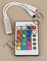 RGB контроллер 6A IR 72W 12V 24 кнопки для светодиодной ленты. , фото 1