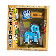 Фигурка Слоник StikElephant для анимационного творчества TST622SF Stikbot Safari Pets