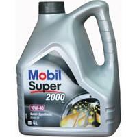 Автомобильное моторное масло MOBIL Super 2000 10W-40 (4лтр.)