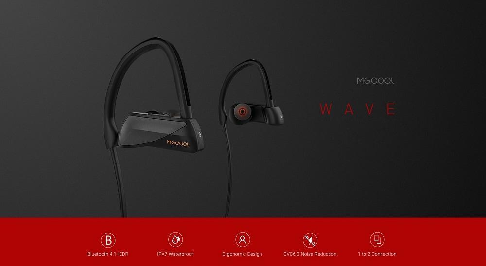 MGCOOL WEVE водонепроницаемые IPX7 беспроводные Bluetooth наушники