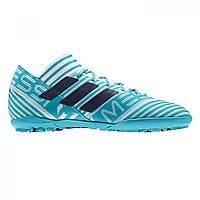 Сороконожки adidas Nemeziz Messi 17.3 Astro Turf White Ink Blue - Оригинал e090ffe6db8f6