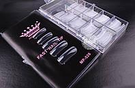 Верхние силиконовые формы Master Professional для наращивания ногтей (прозрачные)