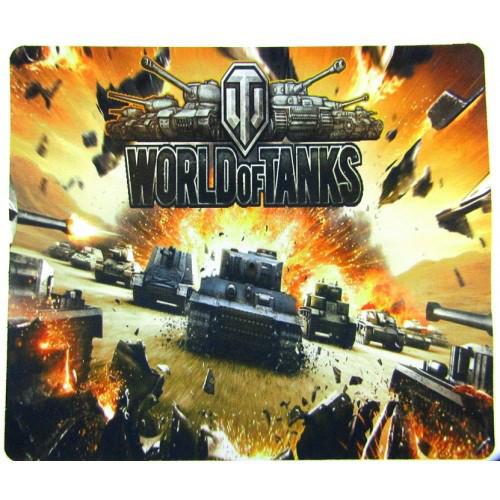 Коврик для мышки World of Tanks №3, тканевые коврики, поверхность для лазерной мыши