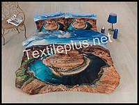 Комплект постельного белья 3D сатин Vortex Турция (kod 3122)