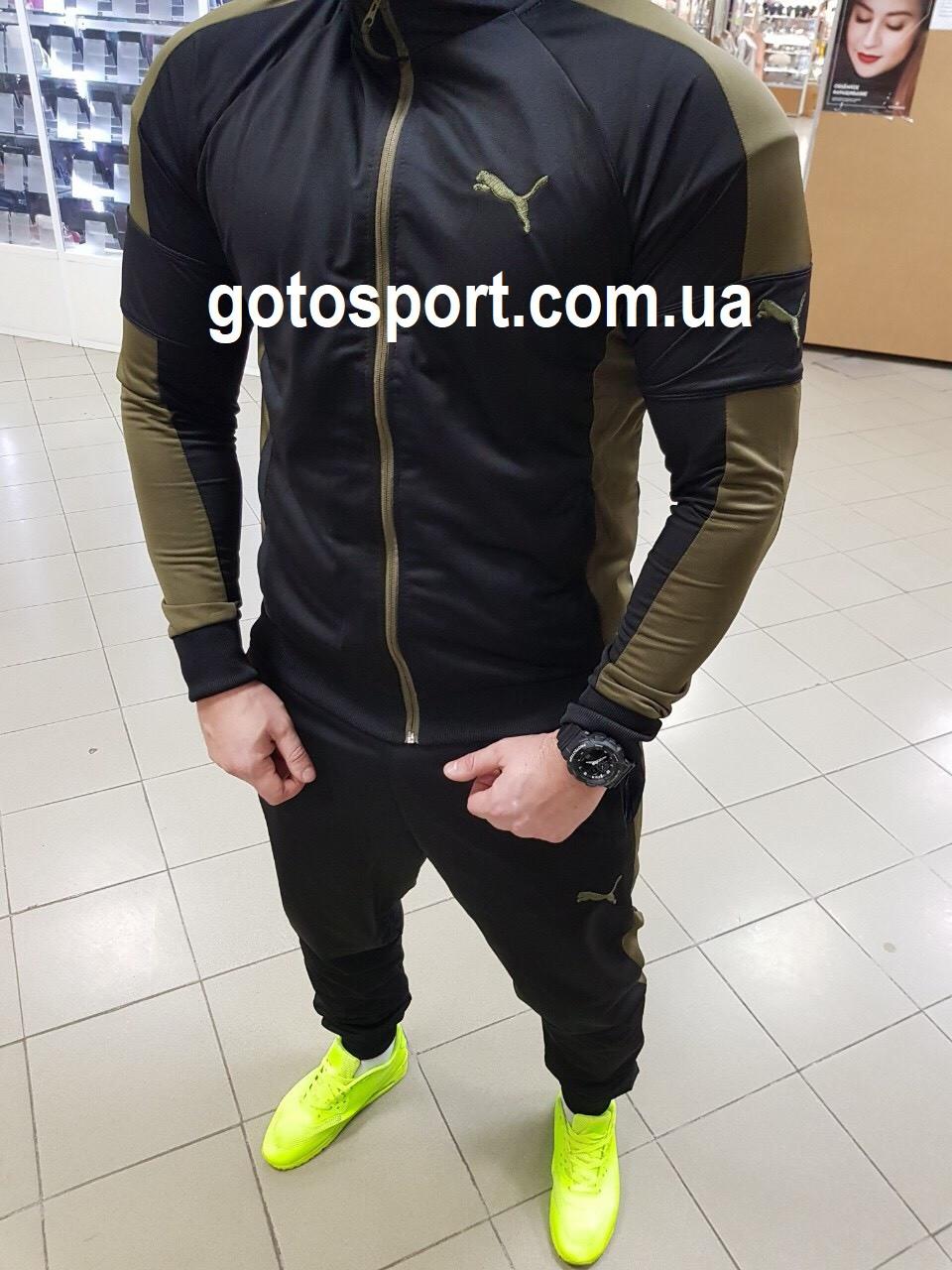 205dd42bbfcd Мужской спортивный костюм Puma хаки - Интернет-магазин спортивной одежды