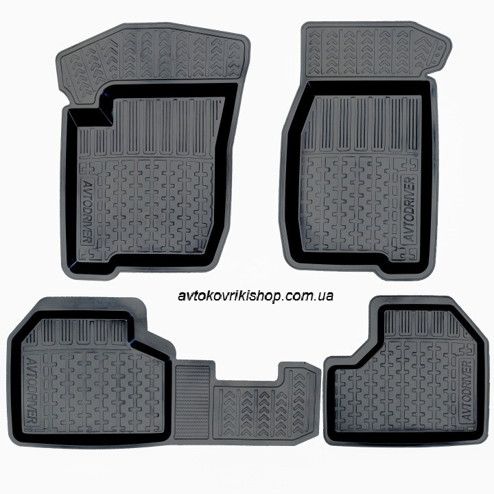 Резиновые коврики ВАЗ (2123) 2009- Avtodriver