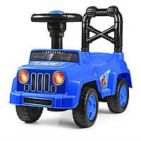 Детская каталка-толокар Q10-4 синяя Гарантия качества Быстрая доставка