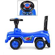 Детская каталка-толокар Q10-4 синяя Гарантия качества Быстрая доставка, фото 3