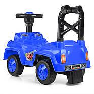 Детская каталка-толокар Q10-4 синяя Гарантия качества Быстрая доставка, фото 4